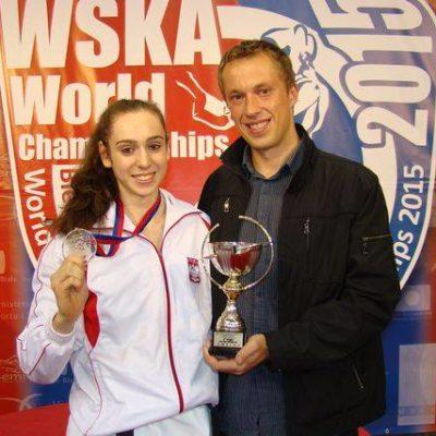 Eliza Gaweł - Mistrzyni Polski i medalistka Mistrzostw Europy Karate WKF