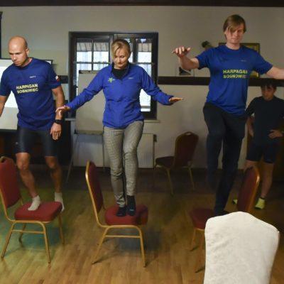 Szkolenie dla grupy biegowej Harpagan Sosnowiec (Goleszów 10.2018)
