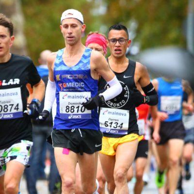 Dominik Kamiński - Mistrz Polski Masters w maratonie