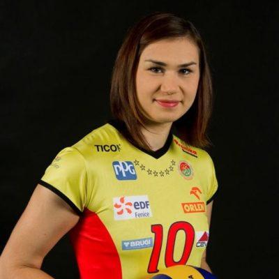 Sylwia Pelc - siatkarka AZS Gliwice